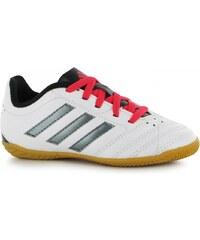 Adidas Goletto Childrens Indoor Football Trainers, white/night met