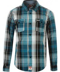 Lee Cooper Check Shirt Boys, blue check