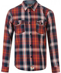 Lee Cooper Check Shirt Boys, red/navy check
