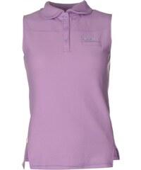 LA Gear Sleeveless Polo Womens, purple