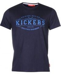 Kickers Print TShirt Mens, navy