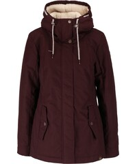 Vínová dámská bunda s kapucí Ragwear Monade