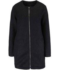 Černý kabát na zip VILA Astal