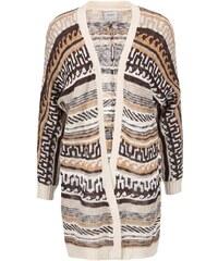 Béžový vzorovaný cardigan Vero Moda Felipa