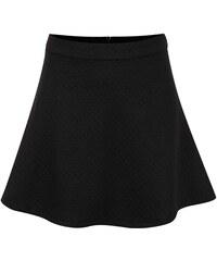 Černá jemně prošívaná holčičí sukně 5.10.15.