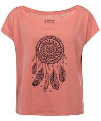 Korálové dámské krátké tričko ZOOT Originál Lapač zlých duchů
