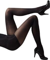 Černé zeštíhlující punčocháče Gipsy Comfort Shaper