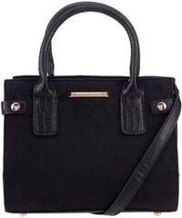 Černá kabelka v semišové úpravě Dorothy Perkins
