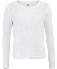 Bílý svetr s vykrojenými zády Vero Moda Risa
