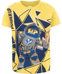 Žluté klučičí triko spotiskem LEGO Wear M-Line