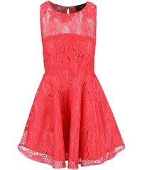 Korálové krajkové šaty AX Paris