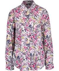 Krémová dámská košile s barevným potiskem Tom Joule Lucie
