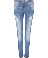 Světle modré slim fit džíny ONLY Coral