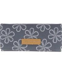 Tmavě modrá peněženka smotivem květin Brakeburn Ropes