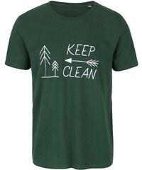 "DOBRO ""Dobré"" zelené pánské triko KEEPItCLEAN"