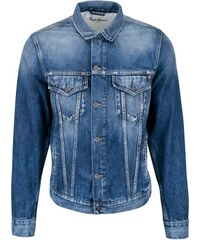 Modrá pánská džínová bunda Pepe Jeans Pinner