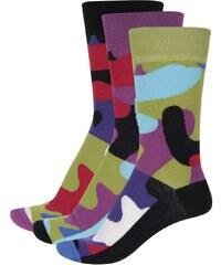 Sada tří pánských maskáčových ponožek Oddsocks Callum