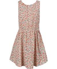 Růžové květované holčičí šaty name it Tiluna
