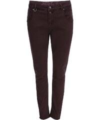 Vínové kalhoty s vyšším pasem ONLY Lise