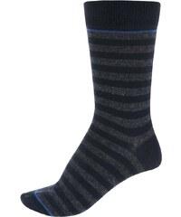 Tmavě modré pruhované ponožky Jack & Jones Belair III.