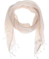 Krémový lněný šátek YAYA