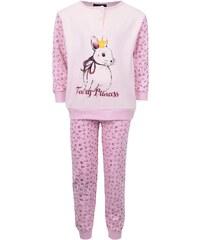 Růžové holčičí pyžamo se zajíčkem Mix´n Match