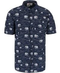 Tmavě modrá vzorovaná košile Bellfield Brava