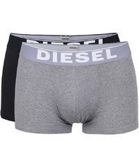 Sada dvou boxerek v šedé a černé barvě Diesel