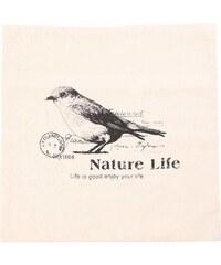 Béžový povlak na polštář Dakls Nature Life