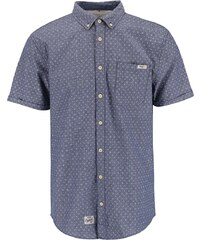 Modrá košile s bílým vzorem Blend