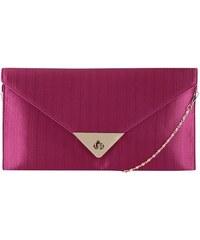 Fuchsiová kabelka na řetízku/psaníčko Dice Handbags
