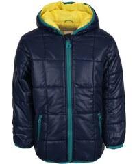 Tmavě modrá klučičí bunda s kapucí Bóboli