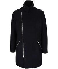 Tmavě modrý kabát na zip Lindbergh