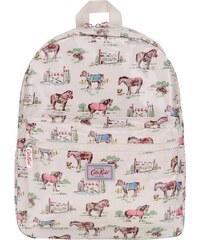 Krémový dětský batoh s koňmi Cath Kidston