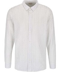Krémová vzorovaná košile Selected Honechuckle