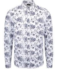 Bílá vzorovaná košile !Solid Barker