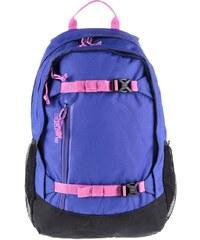 Černo-modrý dětský batoh s růžovými detaily Burton Hiker