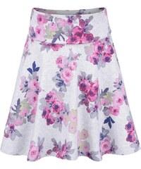 Šedá holčičí sukně s květy Tom Joule Jen