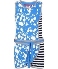 LOVE STATION 22 Modré vzorované holčičí šaty LoveStation22 Turtle Valentina