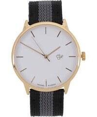 Černé unisex hodinky Cheapo Khorshid Classic