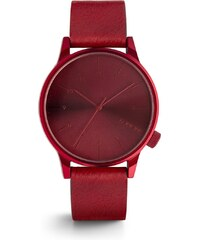 Červené pánské hodinky Komono Winston Regal
