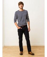 Pantalon Homme Velours Coton/élasthanne Straight Gaya Somewhere, Couleur Marine
