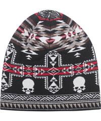 GEMMA.H Skull Nordic Jacquard Knit Red
