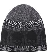 GEMMA.H Skull Nordic Jacquard Knit Black