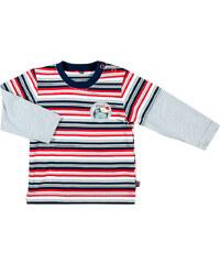 MMDadak Chlapecké pruhované tričko - barevné