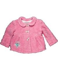 MMDadak Dívčí kabátek se sovou - růžový