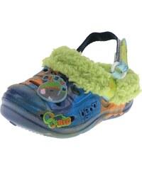 Beppi Chlapecké voňavé sandály s kožíškem - modré