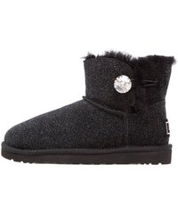 UGG MINI BAILEY BUTTON BLING SEREIN Boots à talons black