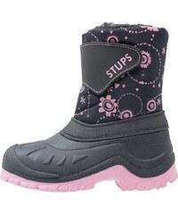 STUPS Bottes de neige blue/rosa