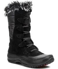 Schneeschuhe THE NORTH FACE - Nuptse Purna TOA0Z3ZT1 Shiny TNF Black